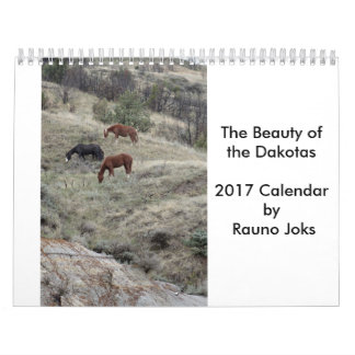 Die Schönheit des Kalenders Dakotas 2017 Kalender