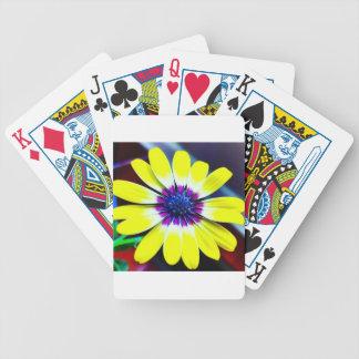 Die Schönheit von Gelbem und von Lila Bicycle Spielkarten
