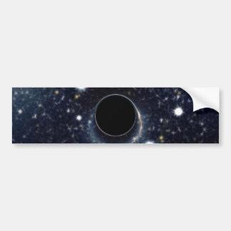 Die schwarzes Locheinstein-Ring NASA Autoaufkleber