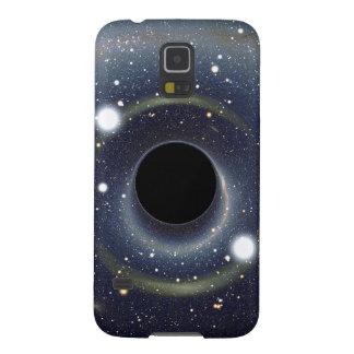 Die schwarzes Locheinstein-Ring NASA Samsung S5 Cover
