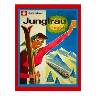 Die Schweiz jungfrau Region Postkarte