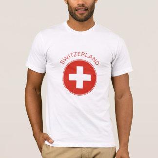Die Schweiz - Schweizer Flaggen-T-Shirt T-Shirt