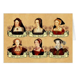 Die sechs Ehefrauen von Klassiker Henrys VIII Karte