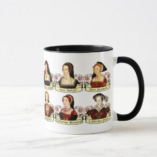 Die sechs Ehefrauen von Klassiker Henrys VIII Tasse