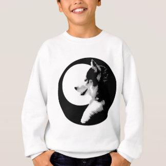 Die Shirt-Schlitten-Hundedes kindes des heiseres Sweatshirt