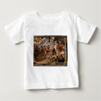 Die Sitzung von Abraham und Melchizedek Rubens von Baby T-shirt