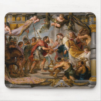 Die Sitzung von Abraham und Melchizedek Rubens von Mauspad