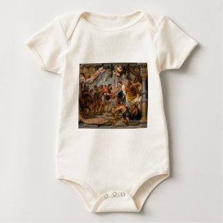 Die Sitzung von Abraham und Melchizedek Rubens von Strampelanzug