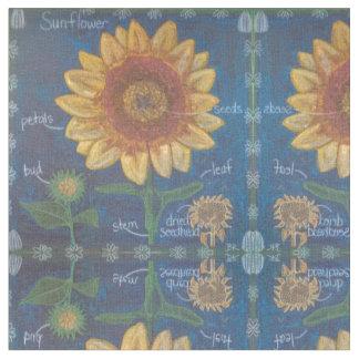 Die Sonnenblume Stoff