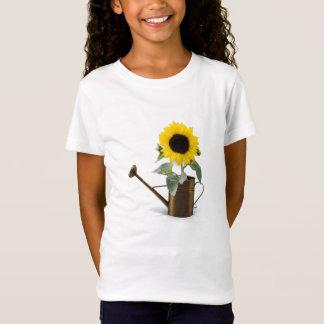 Die Sonnenblume-T - Shirt des Mädchens