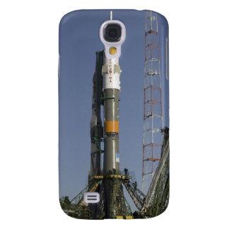 Die Soyuz Rakete wird in Position 2 aufgerichtet Galaxy S4 Hülle