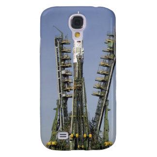 Die Soyuz Rakete wird in Position 4 aufgerichtet Galaxy S4 Hülle