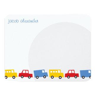 Die Spielwaren-Baby-Kindergeburtstag des 10,8 X 14 Cm Einladungskarte