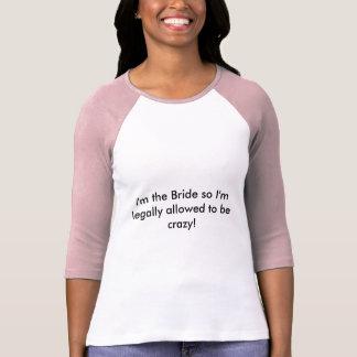 Die Spitze der Henne-Partybraut T-Shirt