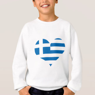 Die Staatsflagge von Griechenland Sweatshirt