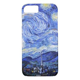 Die sternenklare Nacht durch Van Gogh iPhone 7 Hülle