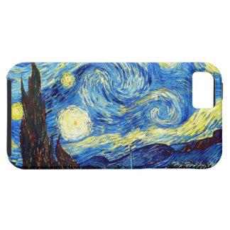 Die sternenklare Nacht durch Vincent van Gogh 1889 iPhone 5 Hüllen