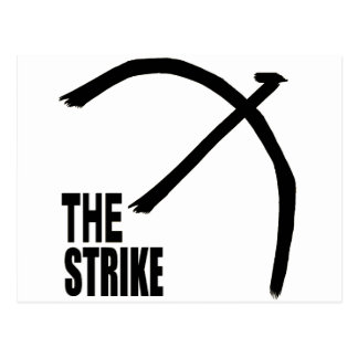 Die Streik-Produkte Postkarte