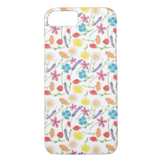 Die süßen bunten kleinen Blumen iPhone 7 Hülle