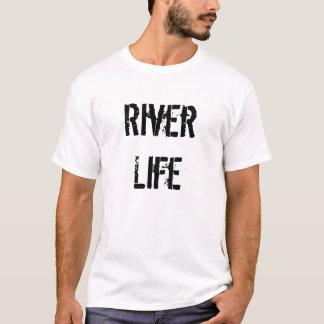 Die T der Fluss-Leben-Männer T-Shirt