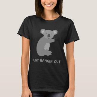 Die T-Shirts lustiger Koalabär shortsleeve Frauen