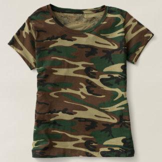 Die Tarnungs-T - Shirt der Frauen