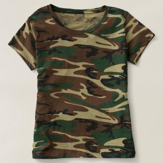 Frauen Camouflage T-Shirt