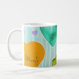 Die Tasse der Mama mit Liebe