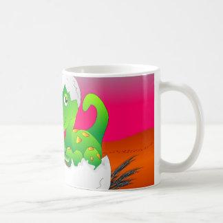 Die Tasse des Kindes, die Dino - helle Farben