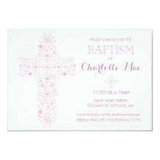Die Taufe des Babys, Taufeinladungs-Karte 8,9 X 12,7 Cm Einladungskarte