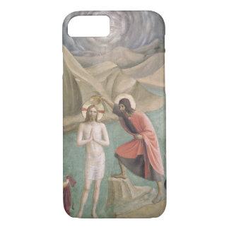 Die Taufe von Christus, c.1438-45 (Fresko) iPhone 8/7 Hülle
