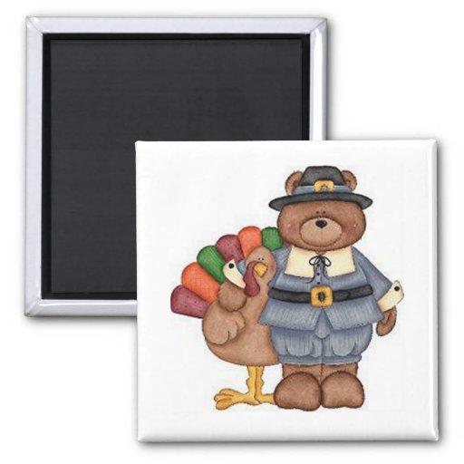 Die Teddybär-Pilger und Türkei Kühlschrankmagnete
