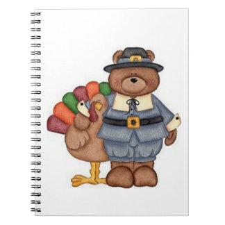 Die Teddybär-Pilger und Türkei Notiz Buch