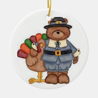 Die Teddybär-Pilger und Türkei Weihnachtsbaum Ornamente