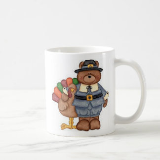 Die Teddybär-Pilger und Türkei Tasse