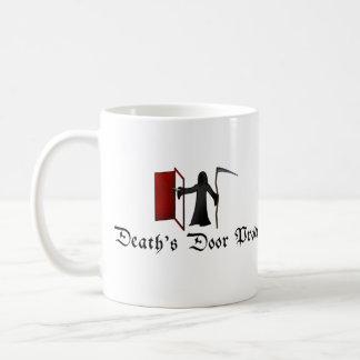 Die Tür des Todes Kaffeetasse
