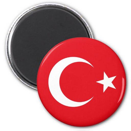 Die Türkei-Flaggen-Magnet Kühlschrankmagnet
