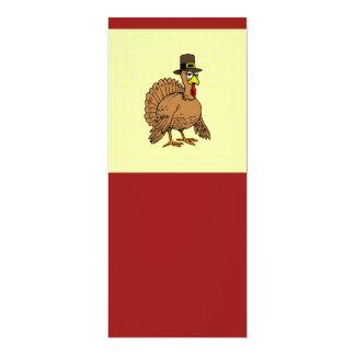 Die Türkei-Pilger-Erntedank-Abendessen 10,2 X 23,5 Cm Einladungskarte