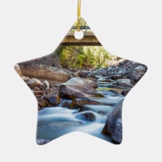 Die Überfahrt Keramik Stern-Ornament