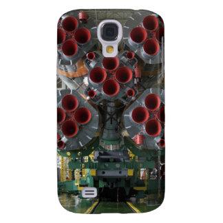 Die Verstärker des Soyuz TMA-14 Raumfahrzeugs Galaxy S4 Hülle