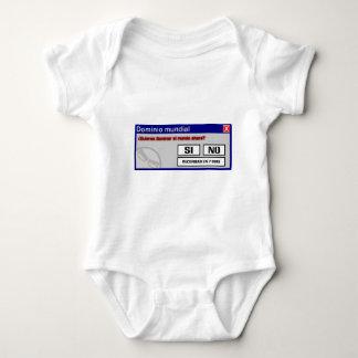 Die Welt beherrschen! Baby Strampler