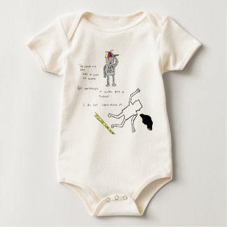 Die Welt ist Baby Strampler