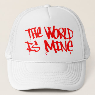 Die Welt ist Bergwerkhut Truckerkappe