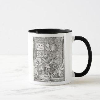 Die Werkstatt des Instrument-Herstellers, c.1570 Tasse