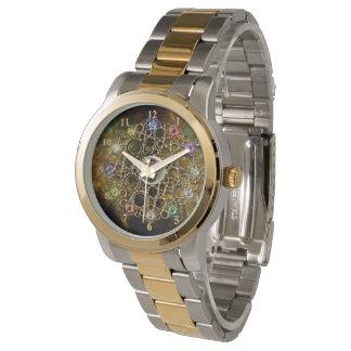 DIE WOHLSTANDS-VERBINDUNG: Edelsteine des Armbanduhr