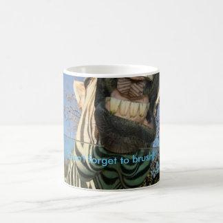 Die Zähne des Zebras Kaffeetasse