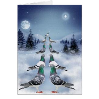 Die Zeit von Weihnachten Grußkarte