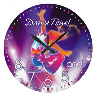 Die Zeit-Wanduhr des Tänzers Wanduhren