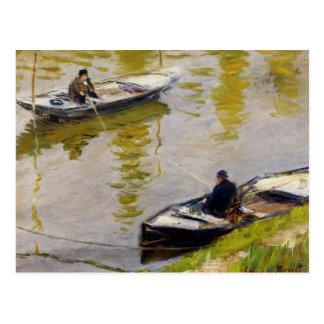 Die zwei Angler durch Monet Postkarten