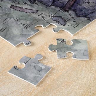 Dieb-Innungs-Puzzle vom unwirklichen Anwesen Puzzle